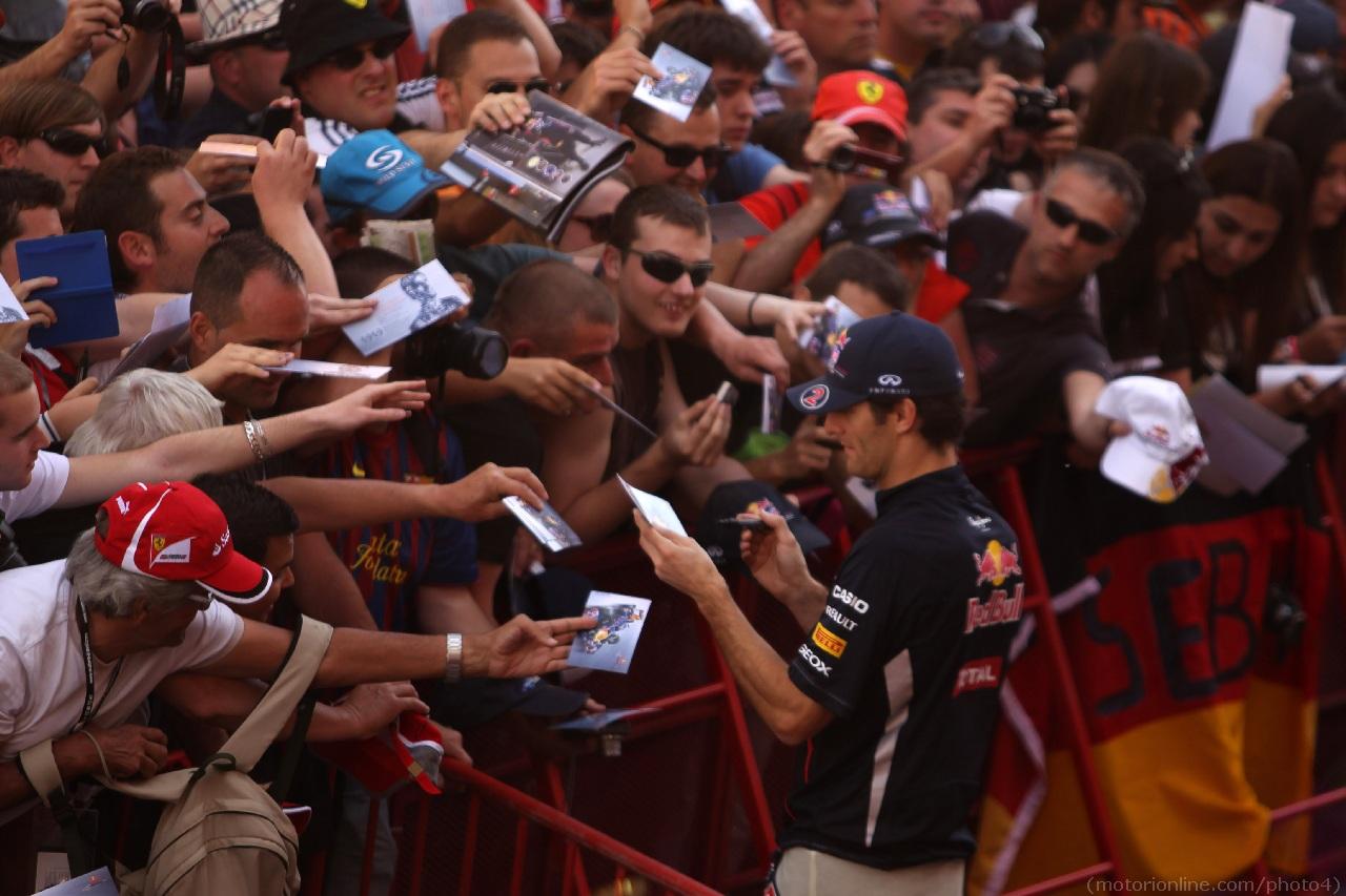 10.05.2012- Mark Webber (AUS) Red Bull Racing RB8