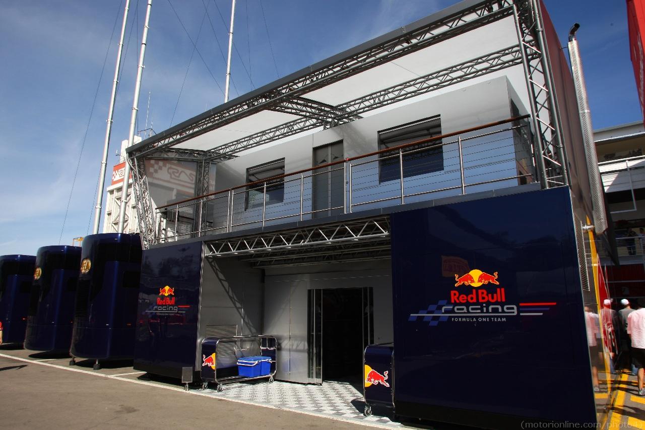 10.05.2012- Red Bull Racing Hospitality