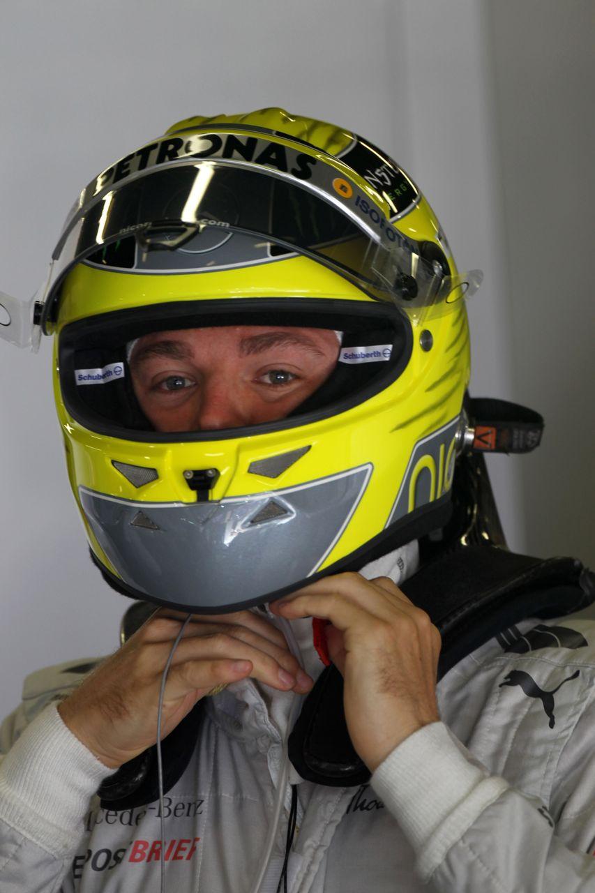 11.05.2012- Free Practice 1, Nico Rosberg (GER) Mercedes AMG F1 W03
