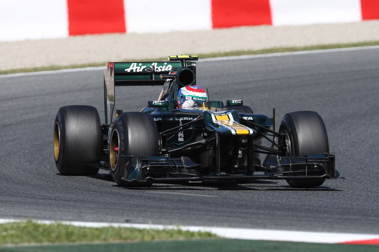 11.05.2012- Free Practice 1, Vitaly Petrov (RUS) Caterham F1 Team CT01