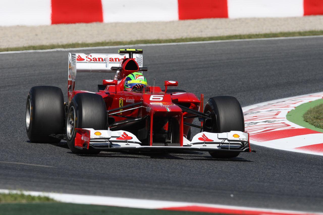11.05.2012- Free Practice 1, Felipe Massa (BRA) Scuderia Ferrari F2012