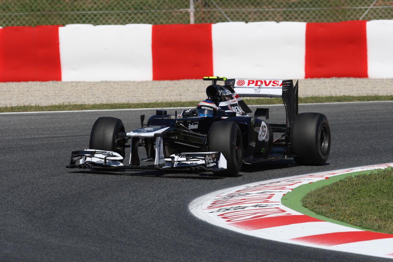 11.05.2012- Free Practice 1, Bruno Senna (BRA) Williams F1 Team FW34