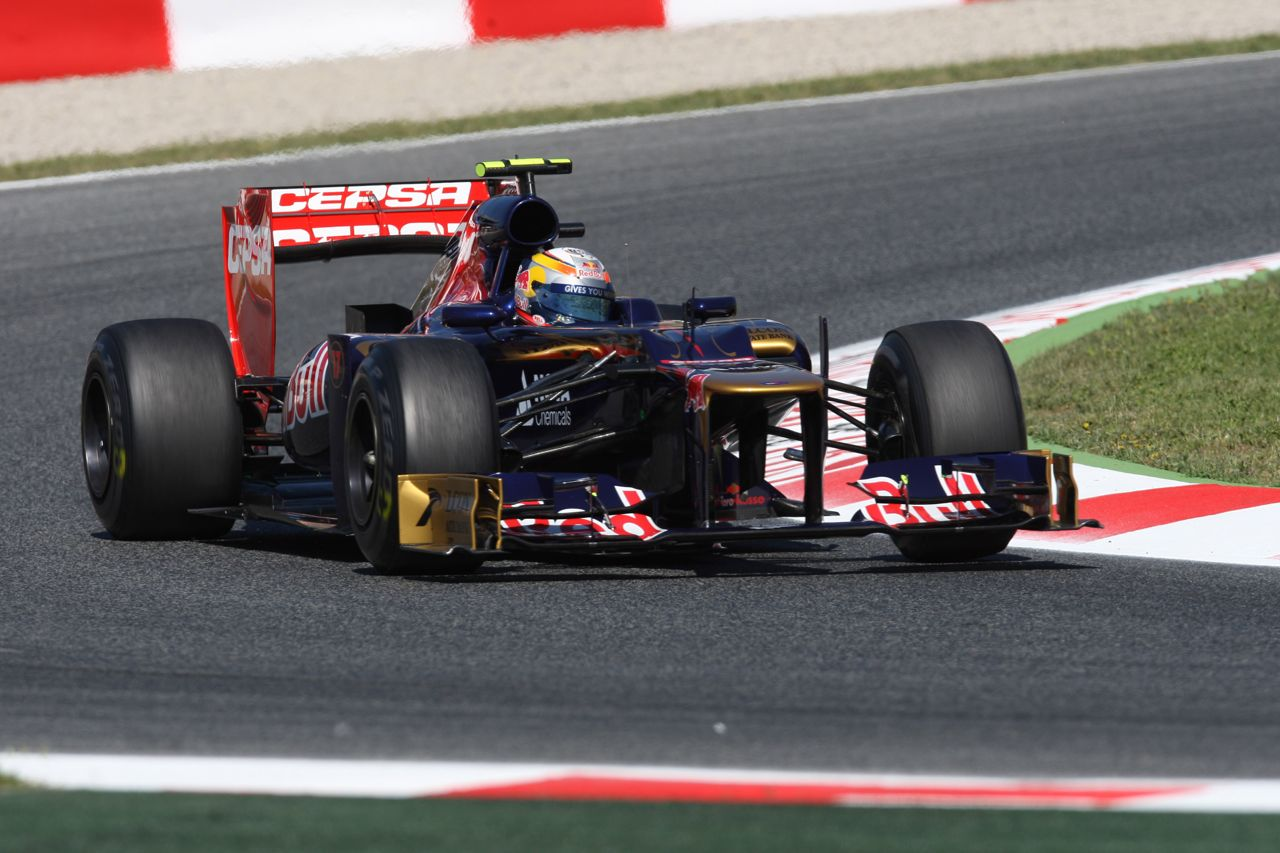 11.05.2012- Free Practice 1, Jean-Eric Vergne (FRA) Scuderia Toro Rosso STR7