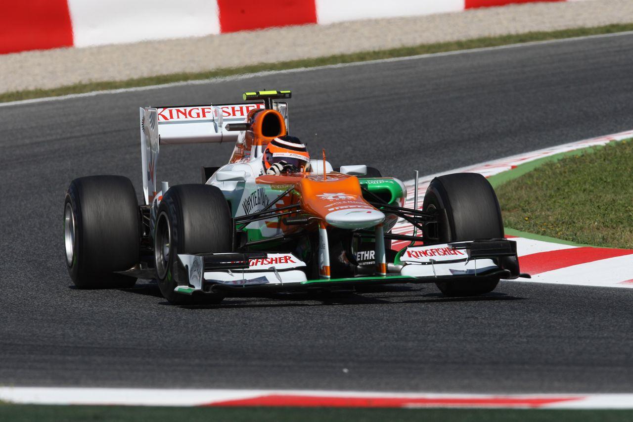 11.05.2012- Free Practice 1, Nico Hulkenberg (GER) Sahara Force India F1 Team VJM05
