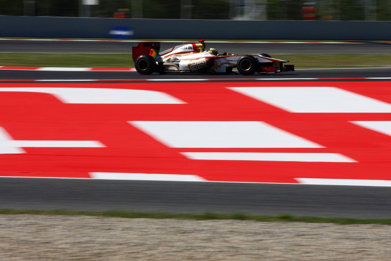 11.05.2012- Free Practice 1, Pedro de la Rosa (ESP) HRT Formula 1 Team F112