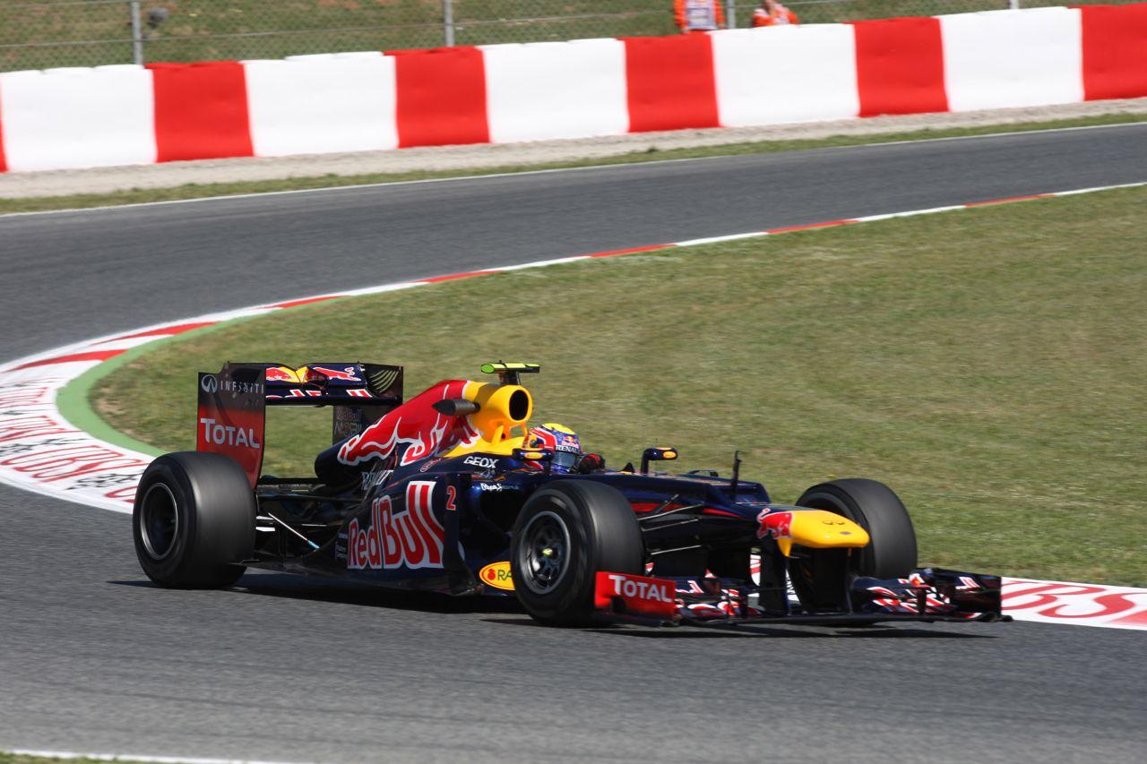 11.05.2012- Free Practice 1, Mark Webber (AUS) Red Bull Racing RB8