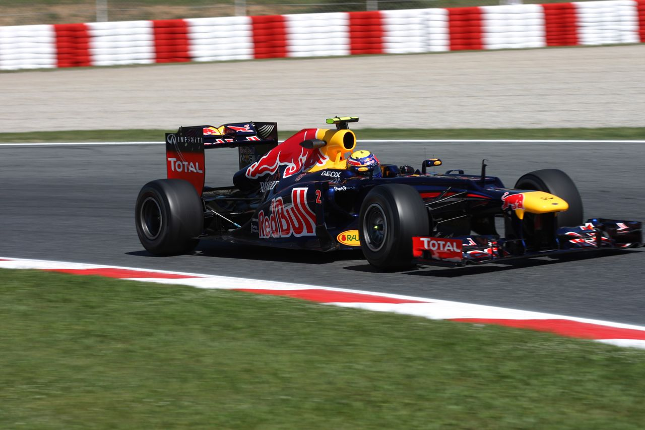11.05.2012- Free Practice 1, Mark Webber (AUS) Red Bull Racing RB8