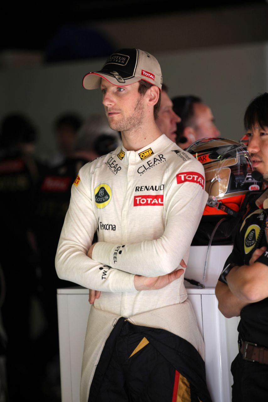 11.05.2012- Free Practice 1, Romain Grosjean (FRA) Lotus F1 Team E20