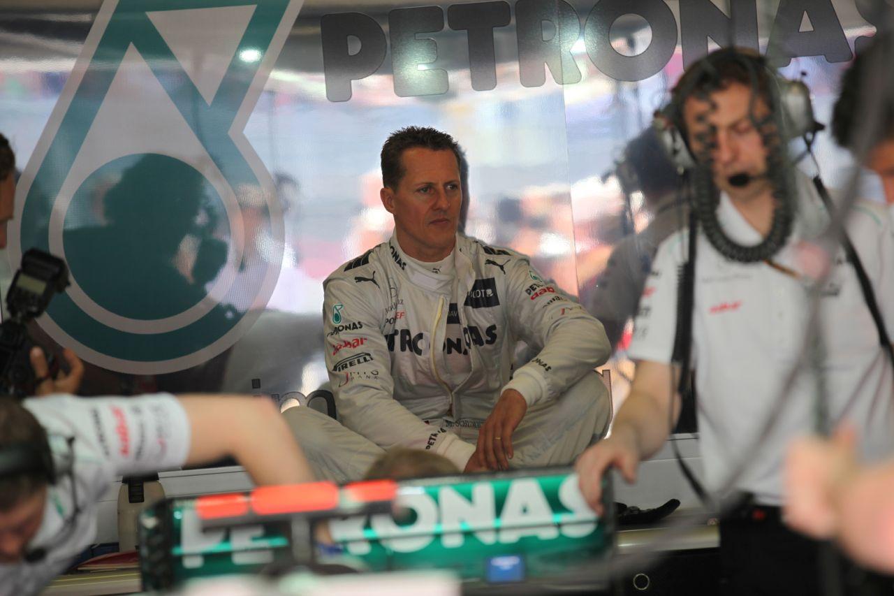 11.05.2012- Free Practice 1,Michael Schumacher (GER) Mercedes AMG F1 W03