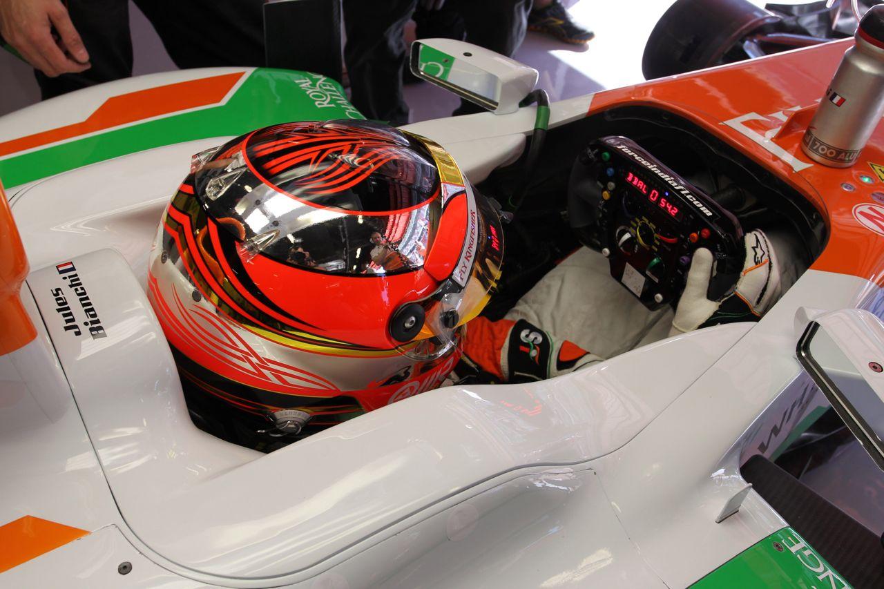 11.05.2012- Free Practice 1, Jules Bianchi (FRA), Test Driver, Sahara Force India Formula One Team VJM05