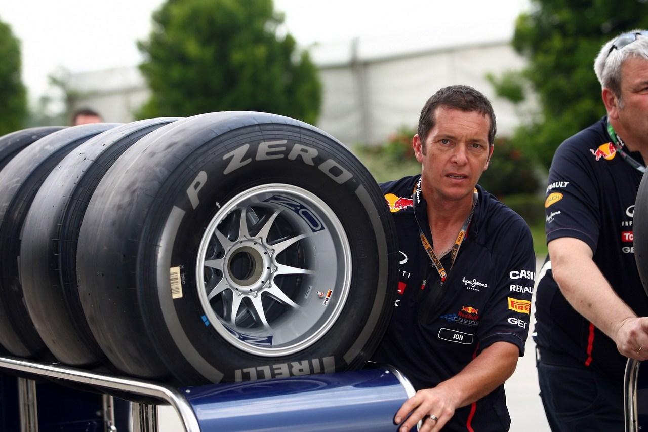 22.03.2012- Pirelli Tyres, Red Bull Racing
