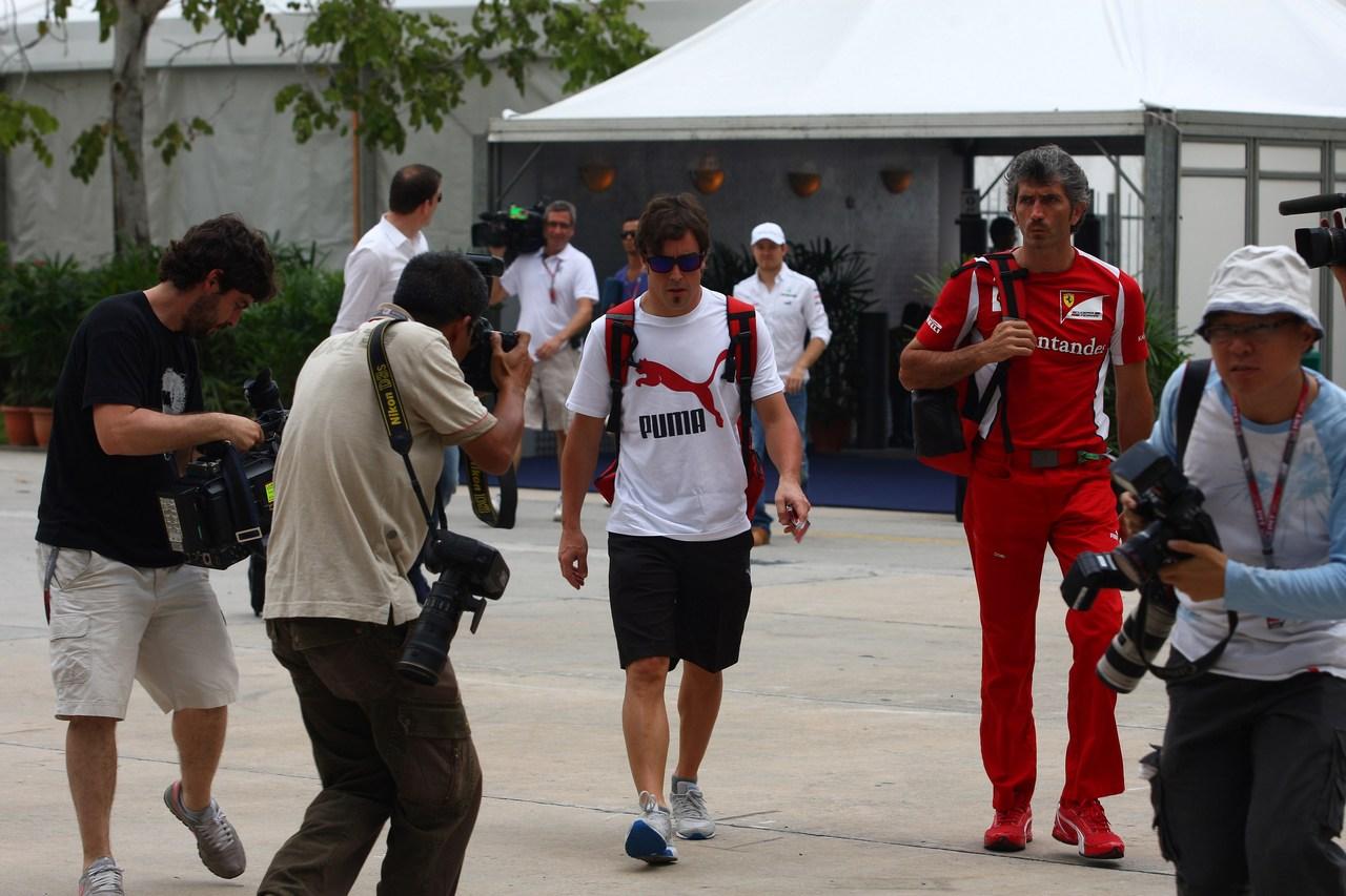 22.03.2012- Fernando Alonso (ESP) Scuderia Ferrari F2012