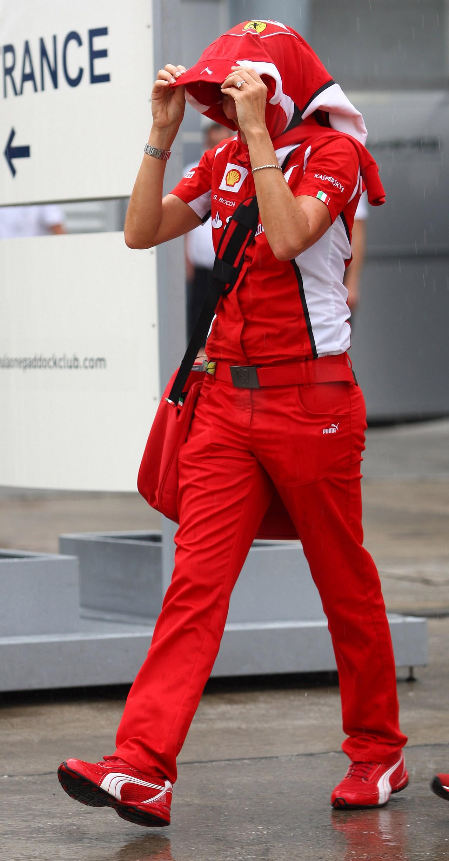 22.03.2012- Stefania Boccoli (ITA), Scuderia Ferrari