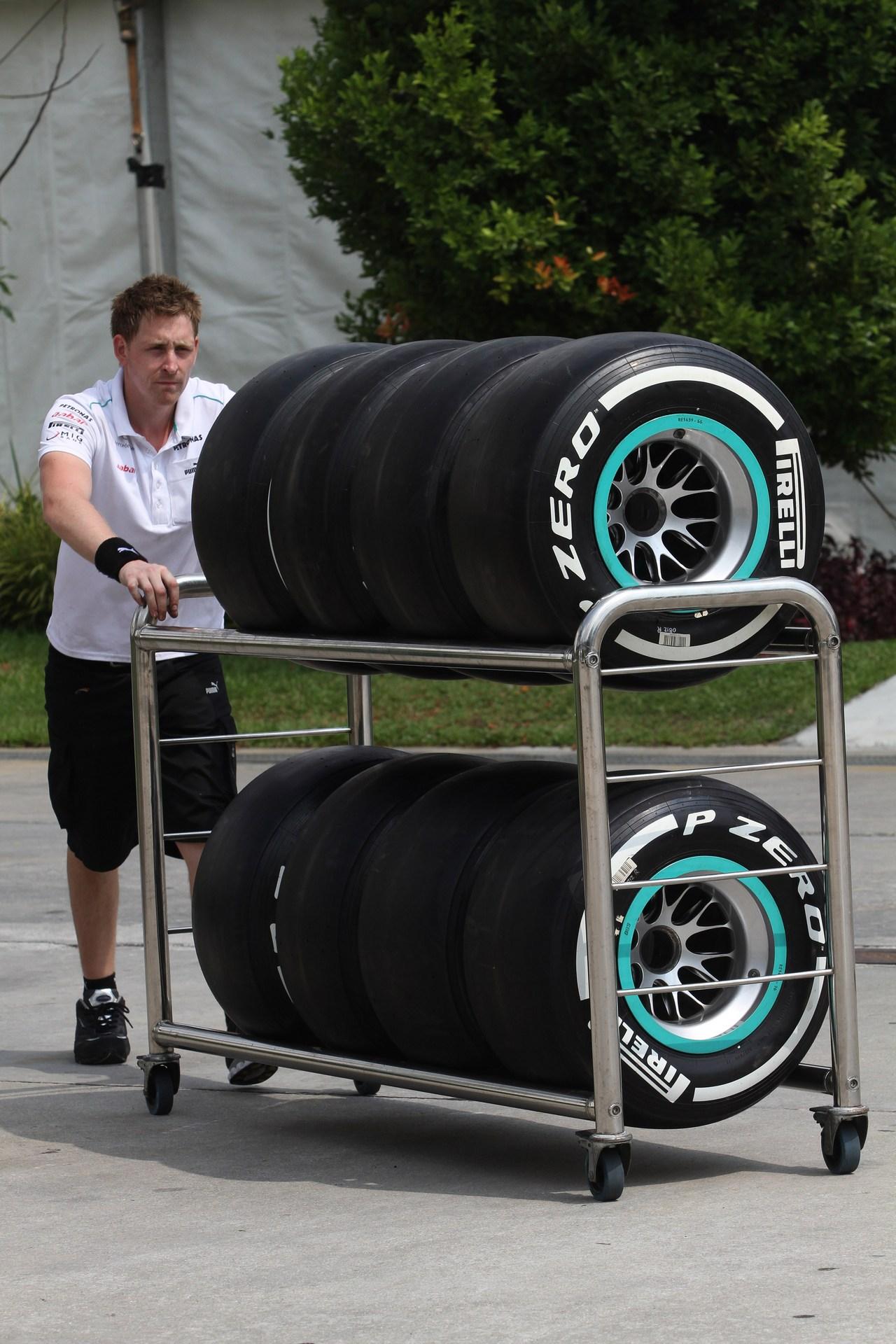 22.03.2012- Pirelli Tyres