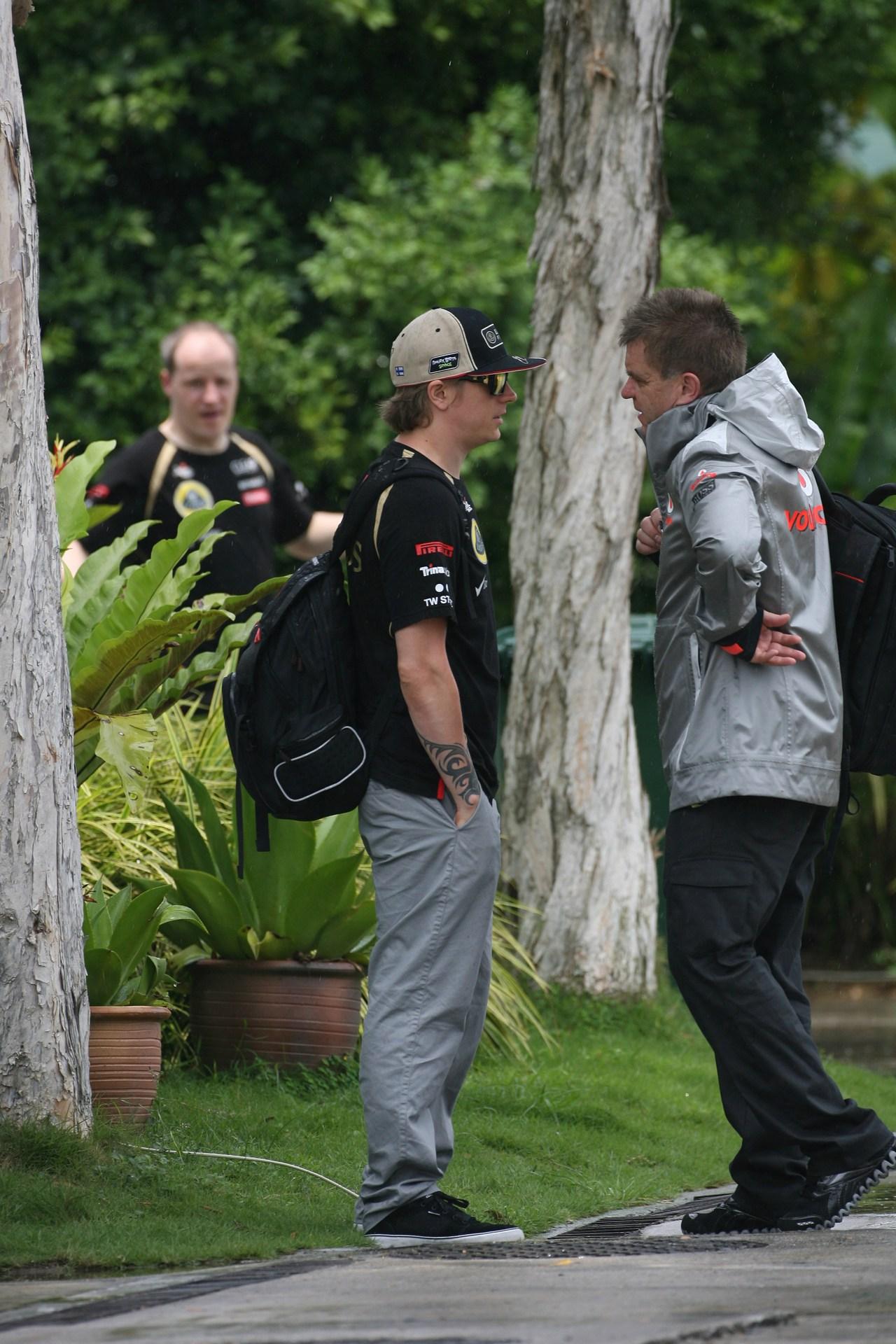 22.03.2012- Kimi Raikkonen (FIN) Lotus F1 Team E20