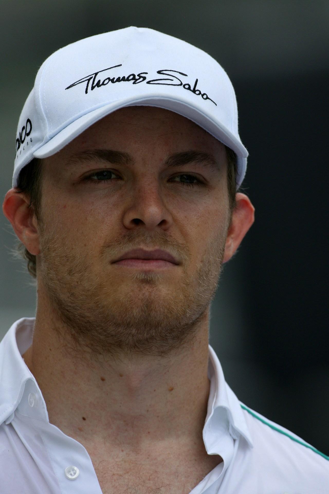 22.03.2012- Nico Rosberg (GER) Mercedes AMG F1 W03