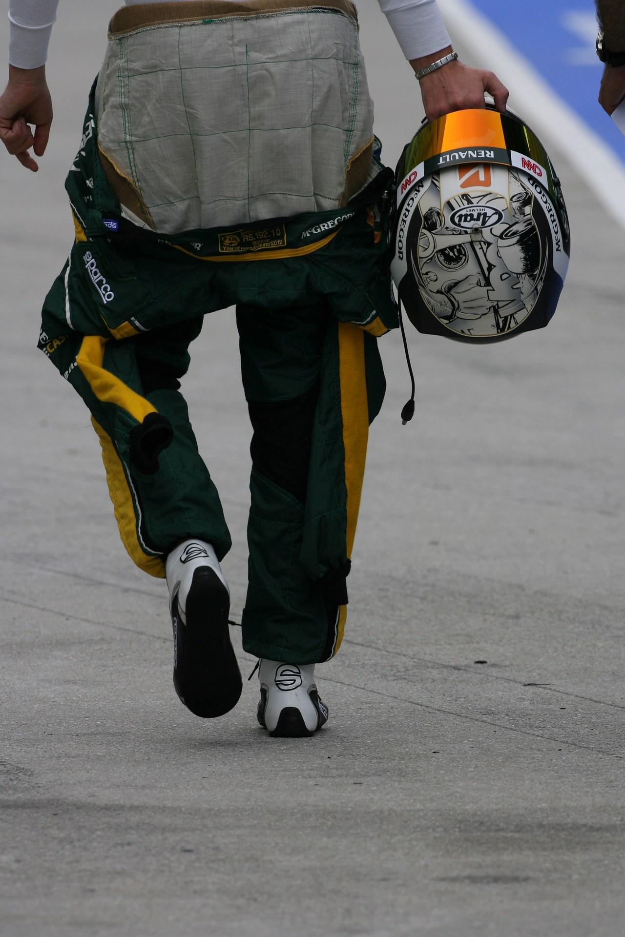 22.03.2012- Giedo Van der Garde (NED), Test Driver, Caterham F1 Team CT01