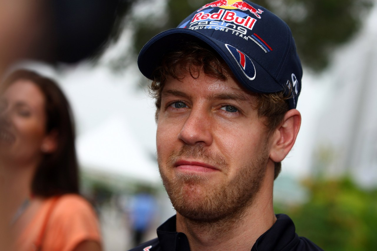 22.03.2012- Sebastian Vettel (GER) Red Bull Racing RB8
