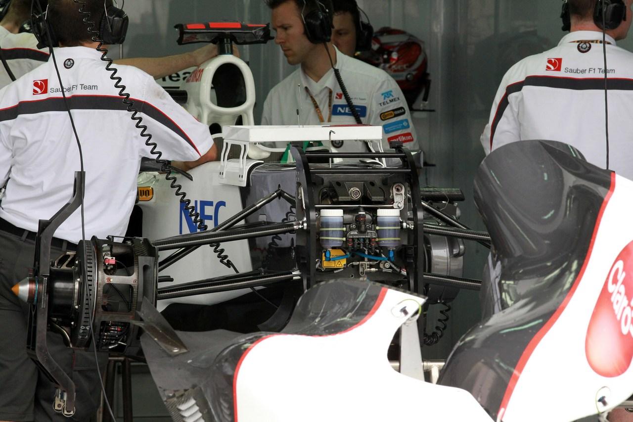 22.03.2012- Sauber F1 Team C31