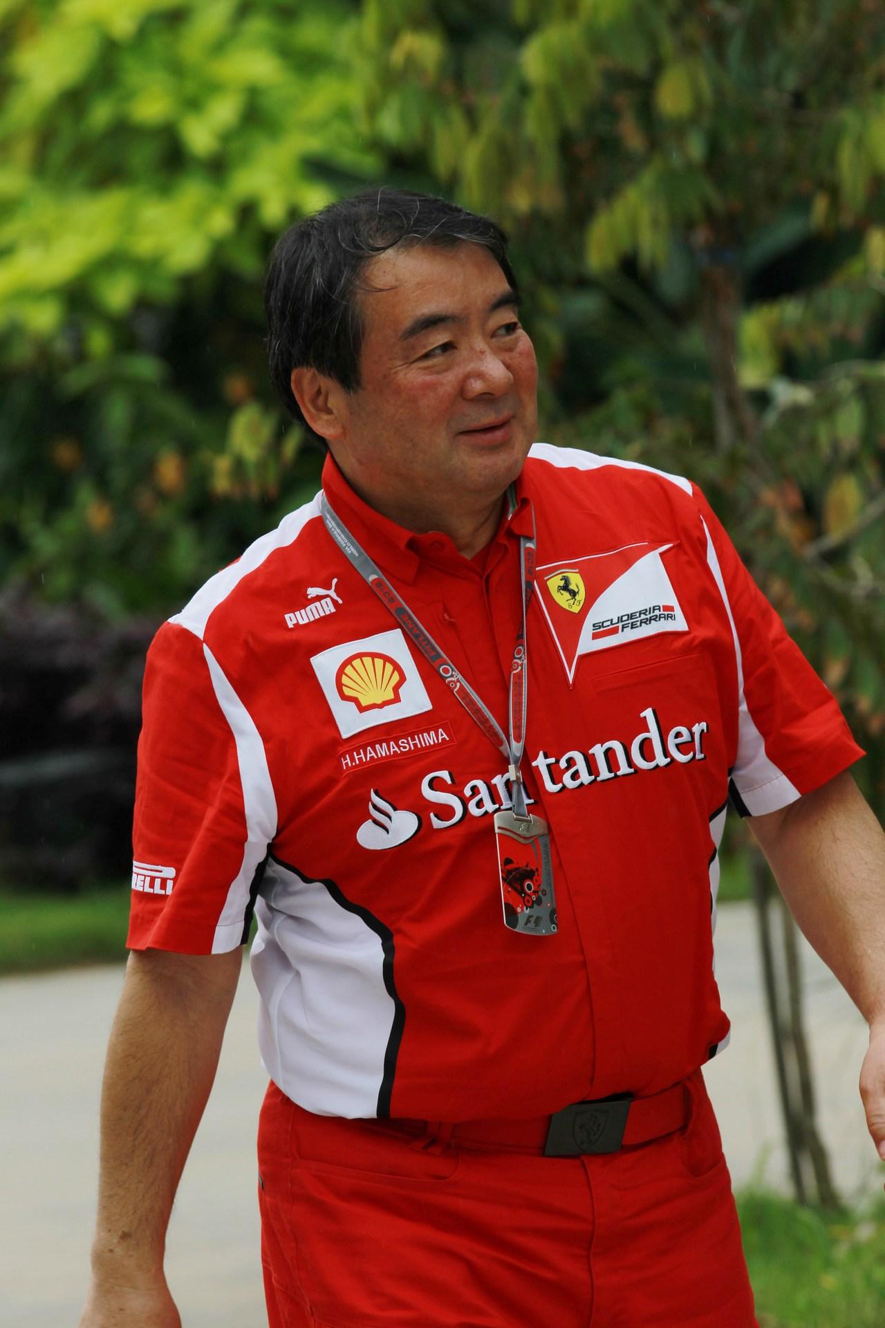 22.03.2012- Hirohide Hamashima (JPN), Scuderia Ferrari
