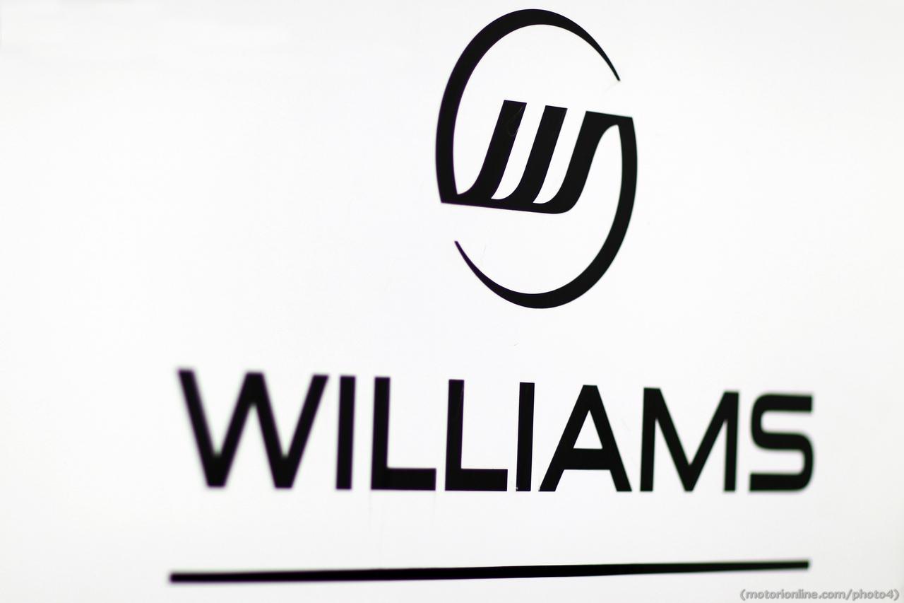 Williams logo. 01.03.2013.