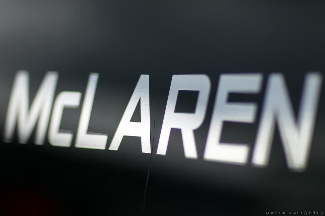 McLaren logo. 01.03.2013.