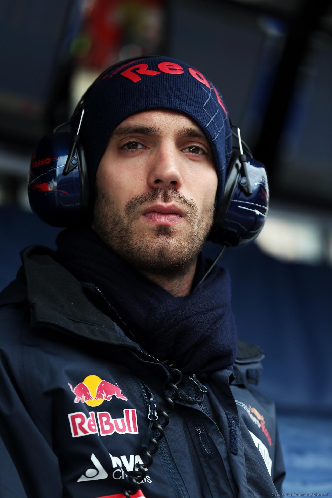 Jean-Eric Vergne (FRA) Scuderia Toro Rosso. 01.03.2013.