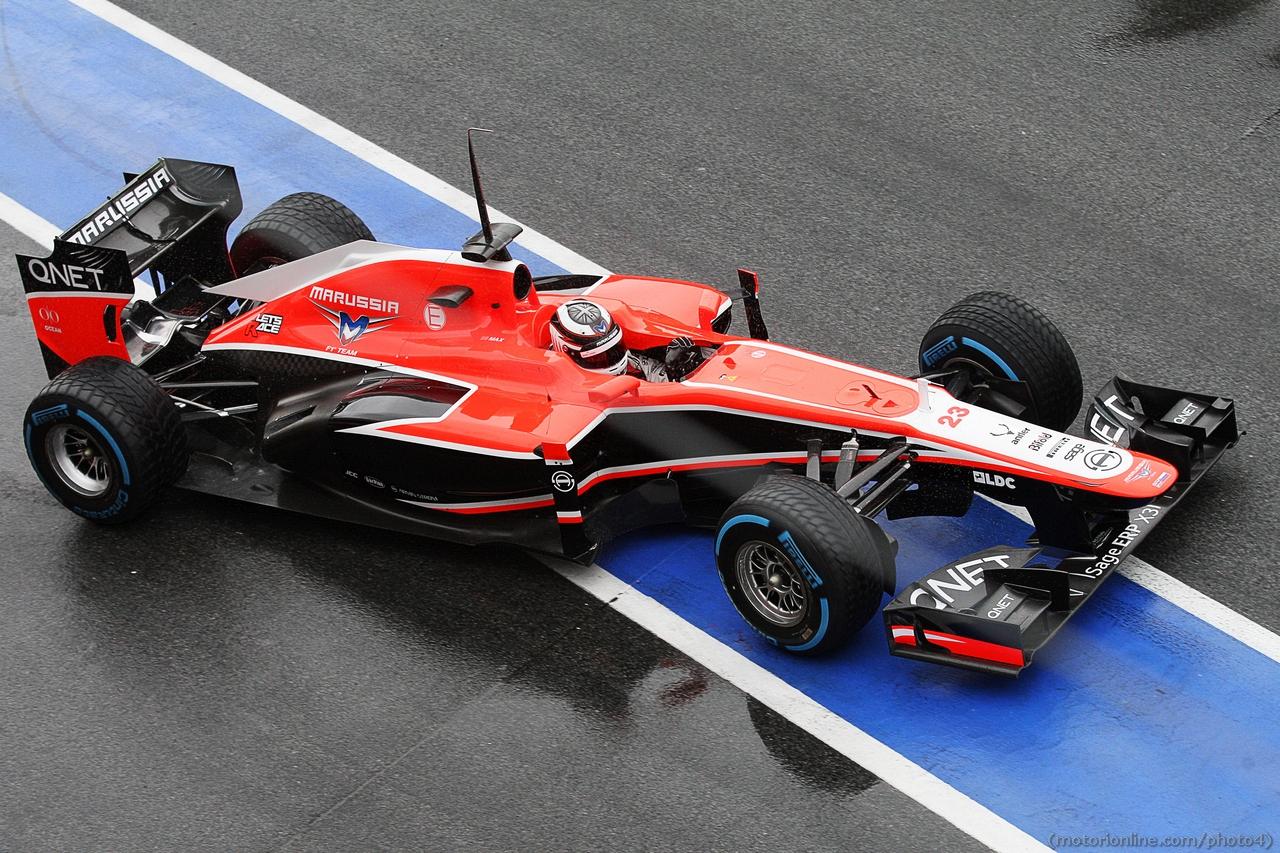 Max Chilton (GBR) Marussia F1 Team MR02. 01.03.2013