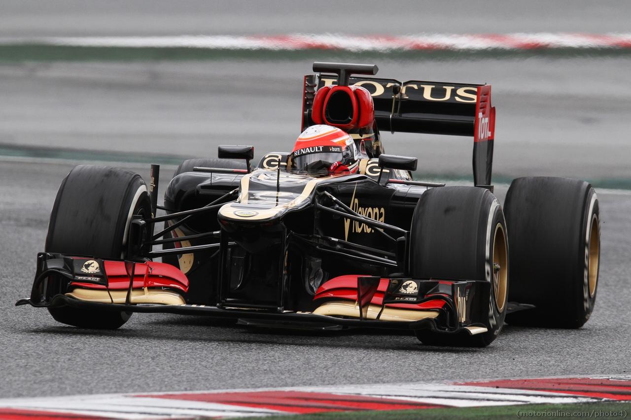 Romain Grosjean (FRA) Lotus F1 E21. 01.03.2013.