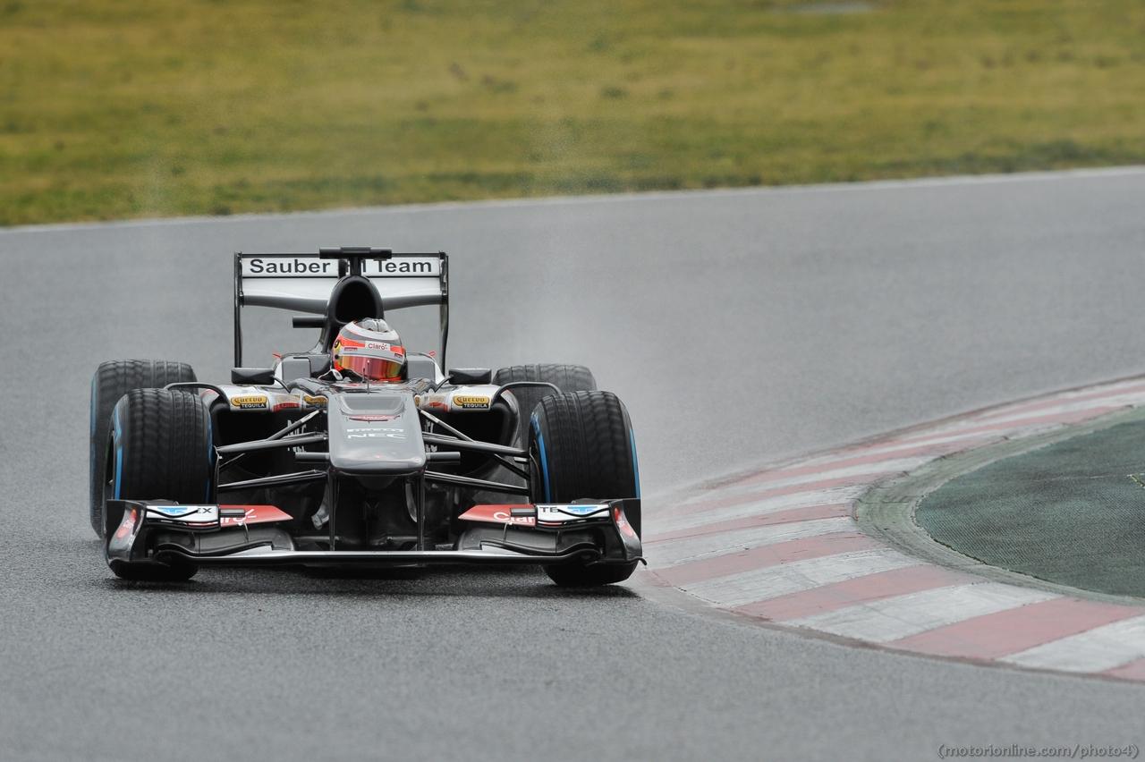 Nico Hulkenberg (GER) Sauber C32. 01.03.2013.