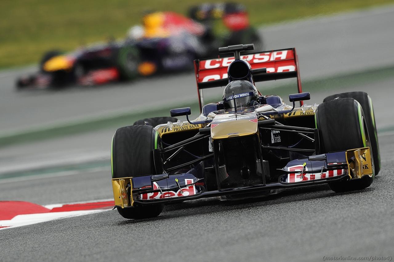 Daniel Ricciardo (AUS) Scuderia Toro Rosso STR8. 01.03.2013.