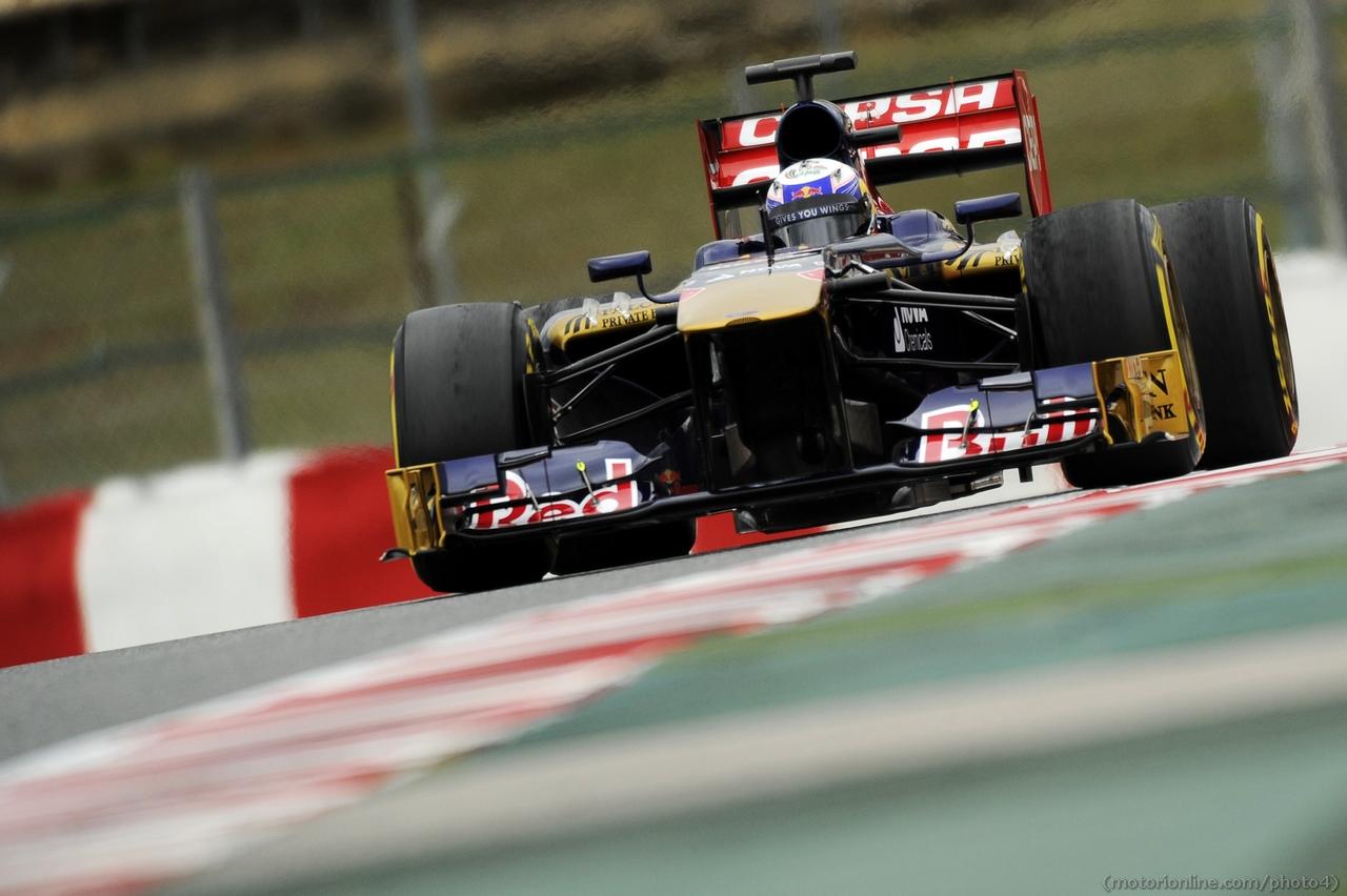 Jean-Eric Vergne (FRA) Scuderia Toro Rosso STR8. 01.03.2013.