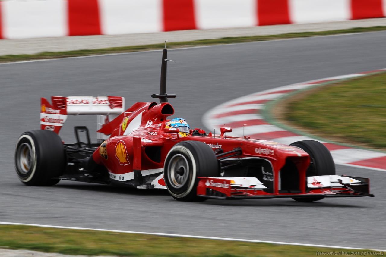Fernando Alonso (ESP) Ferrari F138. 01.03.2013.