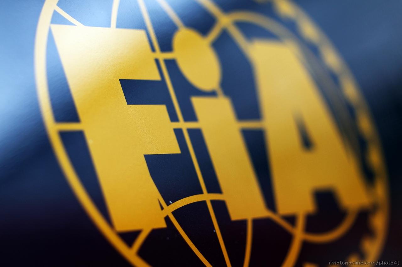 FIA logo. 01.03.2013.