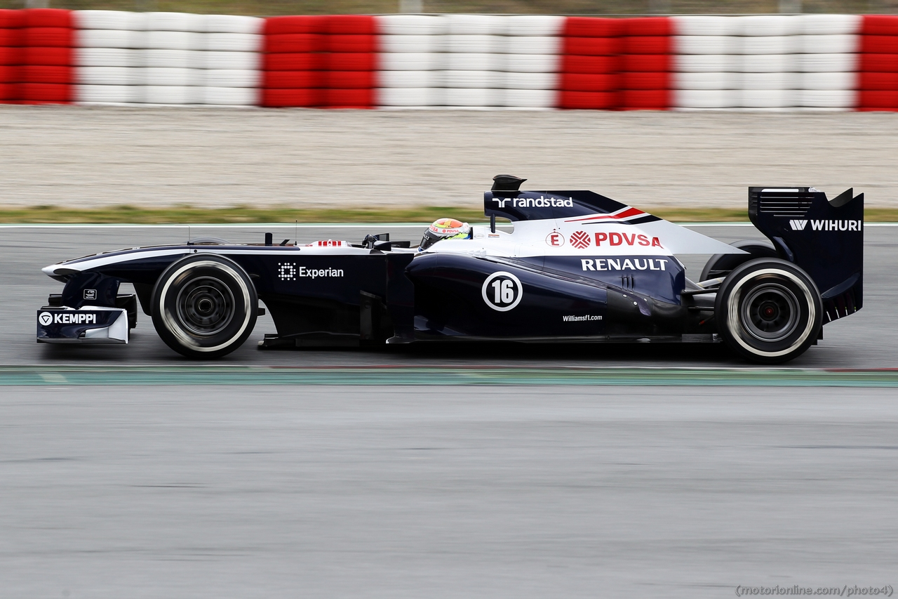 Pastor Maldonado (VEN) Williams FW35. 01.03.2013.