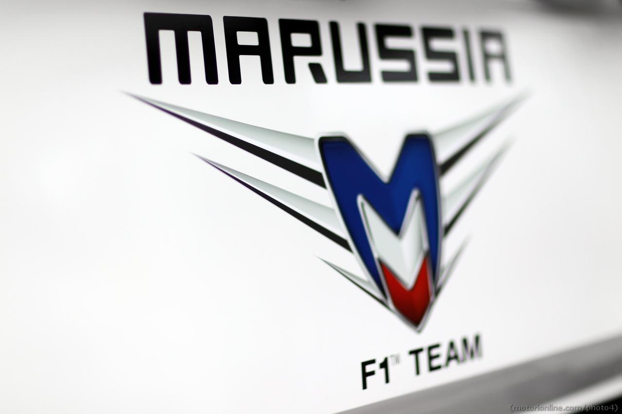 Marussia F1 Team logo. 01.03.2013.