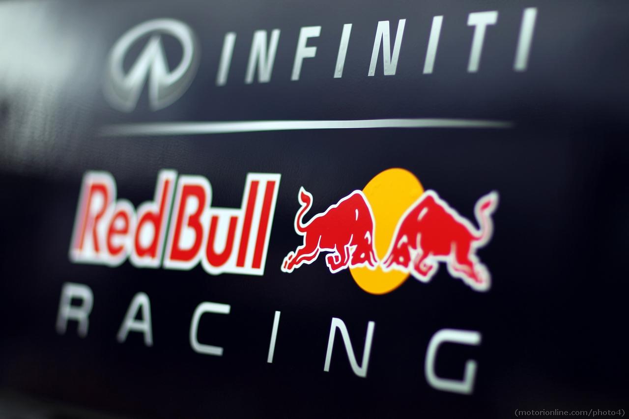 Red Bull Racing logo. 01.03.2013.