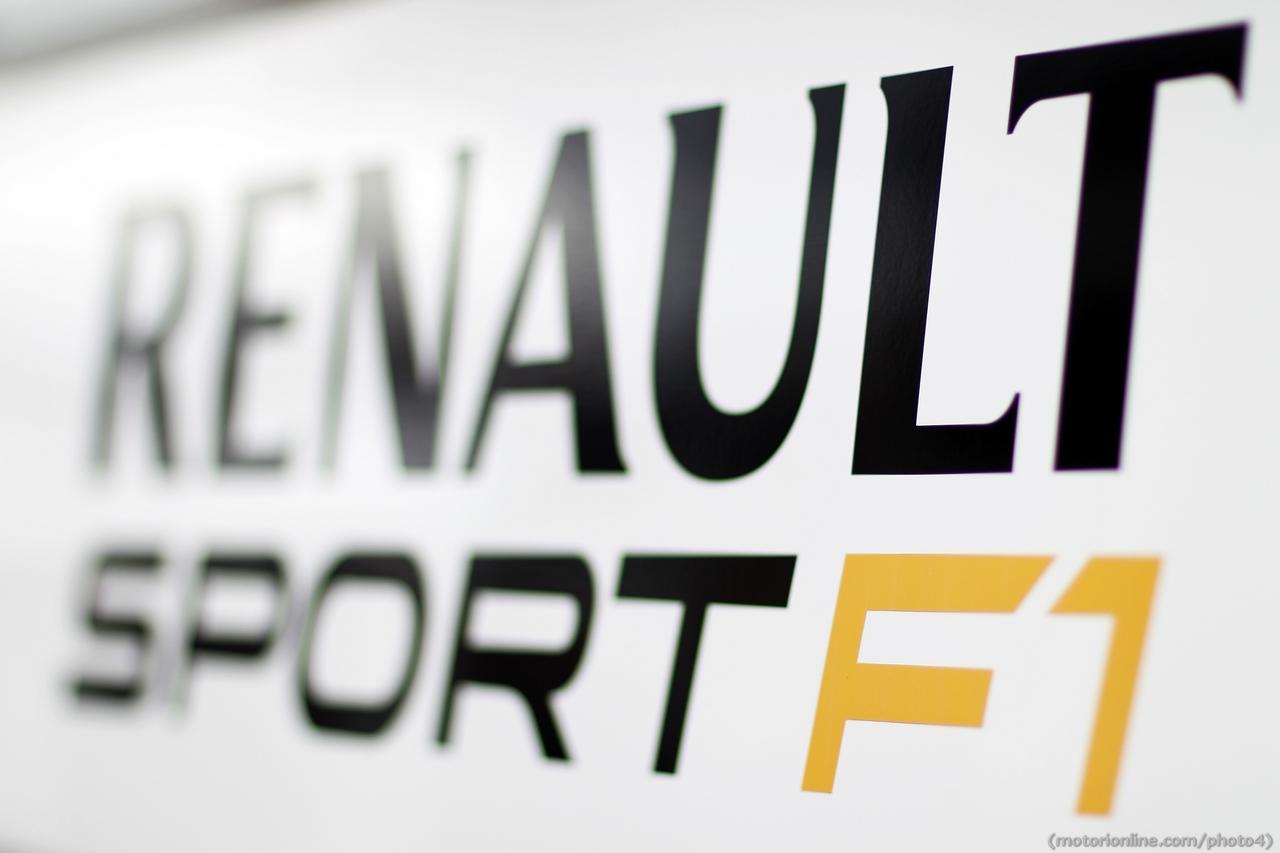 Renault Sport F1 logo. 01.03.2013.