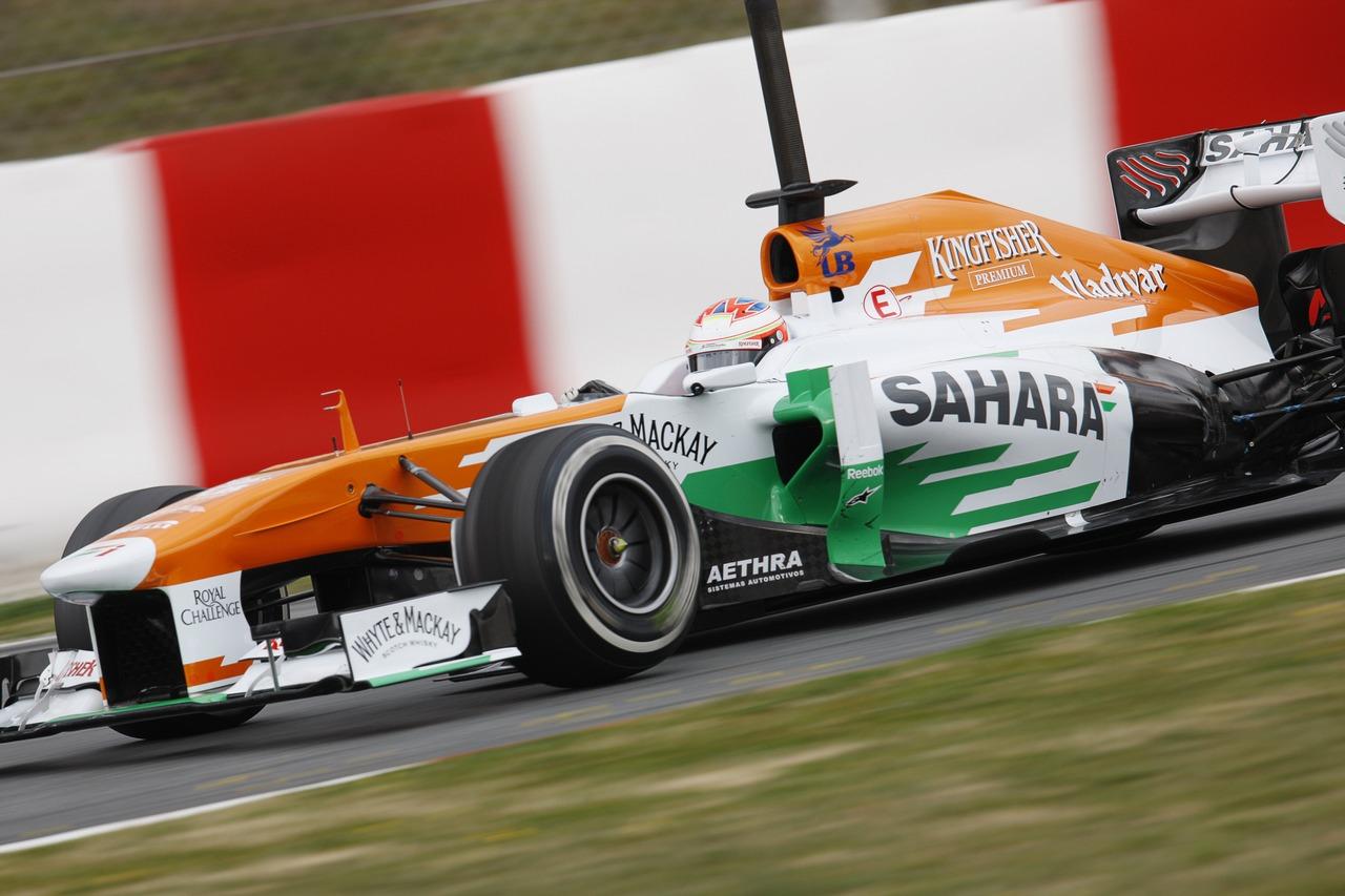 Paul di Resta (GBR) Sahara Force India VJM06.