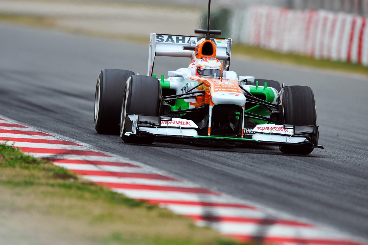Paul di Resta (GBR) Sahara Force India VJM06.