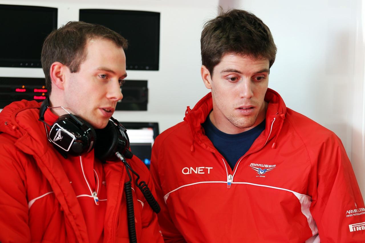 Luiz Razia (BRA) Marussia F1 Team.