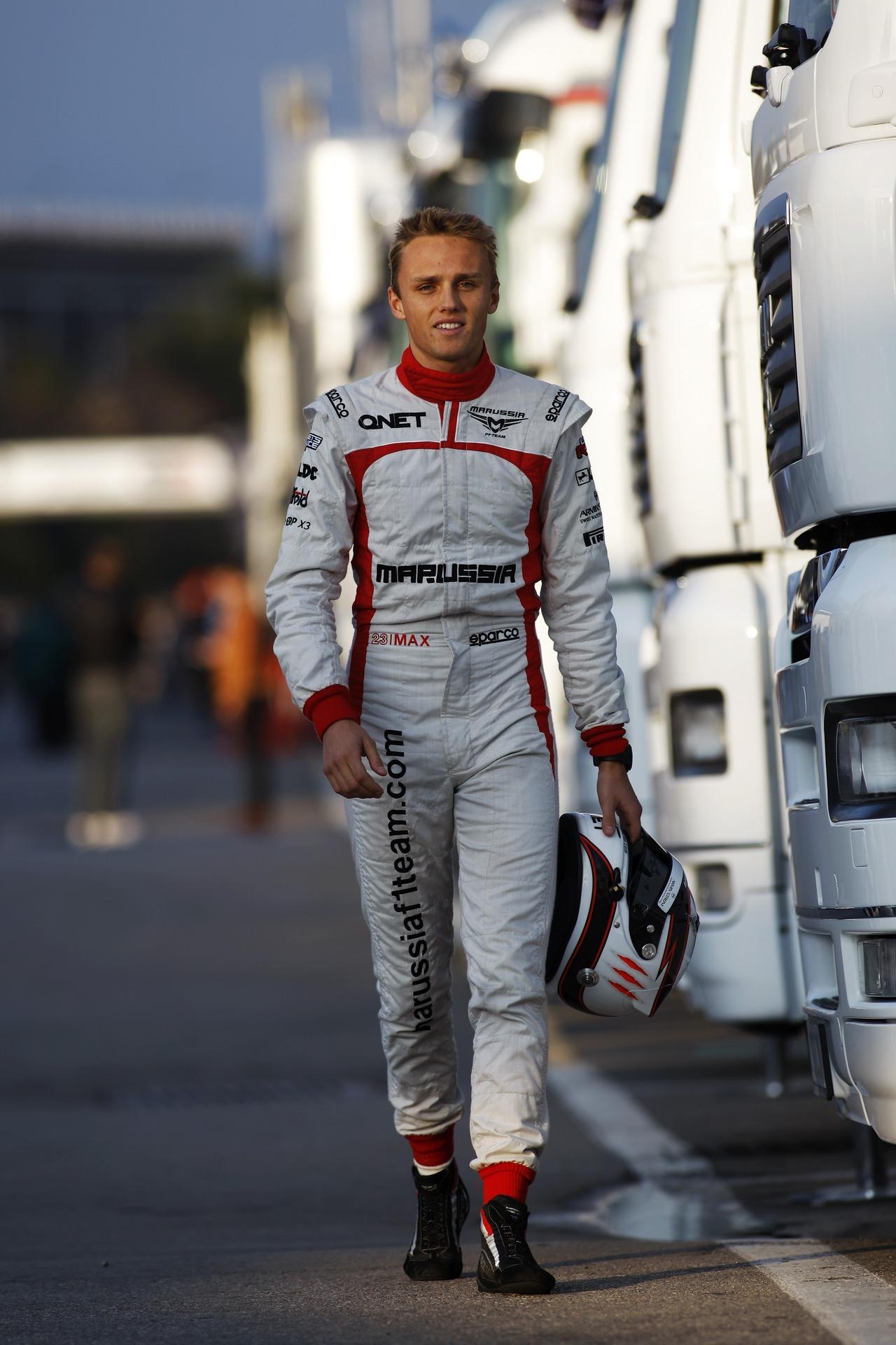 Max Chilton (GBR) Marussia F1 Team.