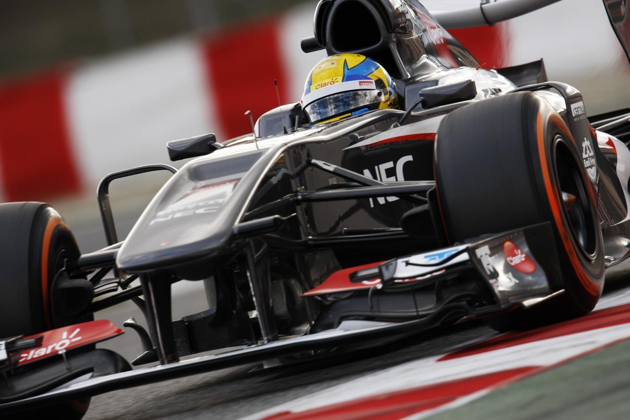 Esteban Gutierrez (MEX) Sauber C32.