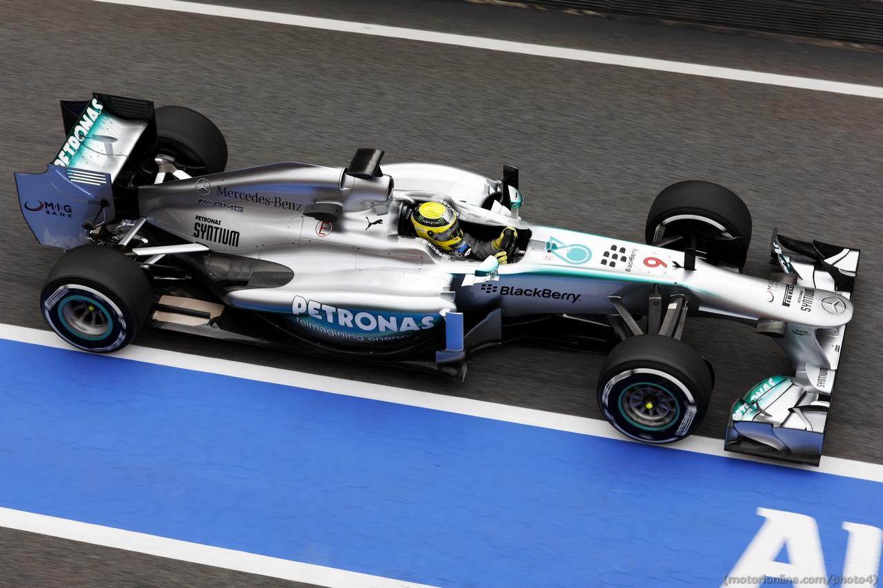 Nico Rosberg (GER) Mercedes AMG F1 W04.