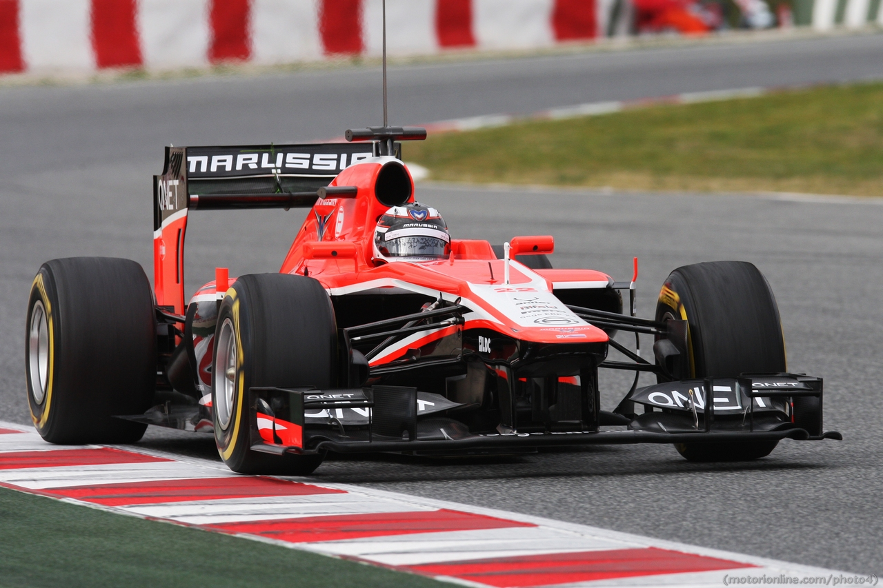 Max Chilton (GBR) Marussia F1 Team MR02.