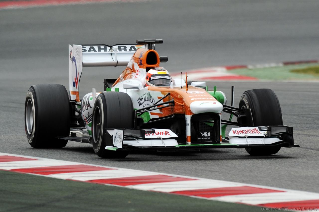 Jules Bianchi (FRA) Sahara Force India F1 Team VJM06. 22.02.2013.
