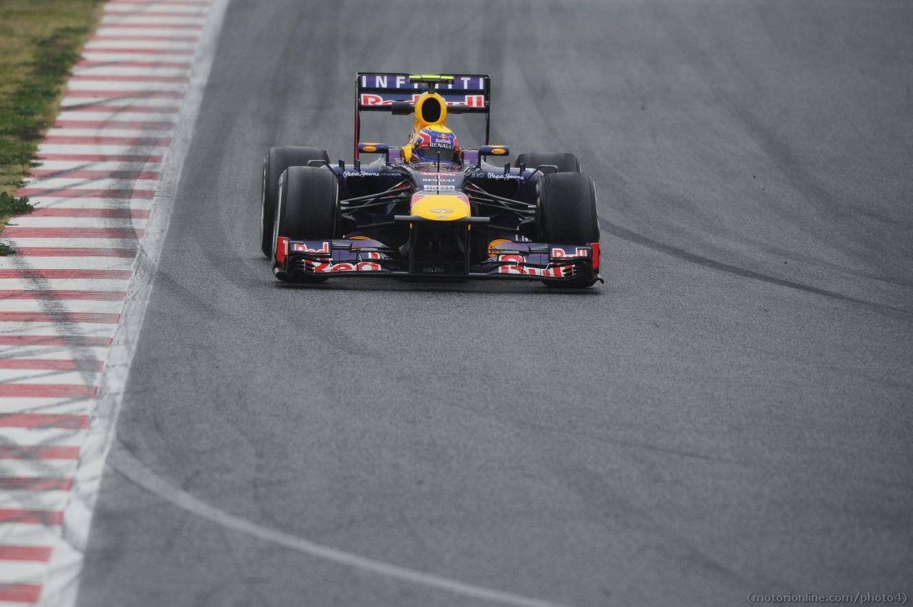 Mark Webber (AUS) Red Bull Racing RB9. 22.02.2013.