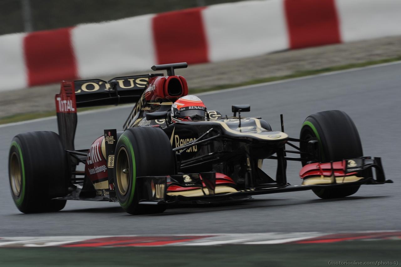 Romain Grosjean (FRA) Lotus F1 E21. 22.02.2013.