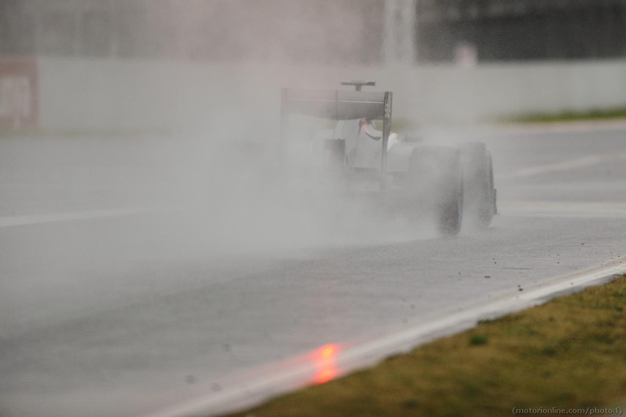 Esteban Gutierrez (MEX) Sauber C32. 22.02.2013.