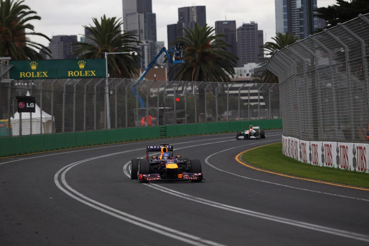 17.03.2013- Race, Sebastian Vettel (GER) Red Bull Racing RB9
